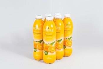 Lisované ovocné šťavy, pomaranč
